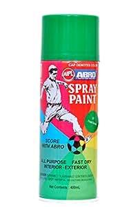 Abro Colour Spray Paint 400ml Fresh Green Car Motorbike