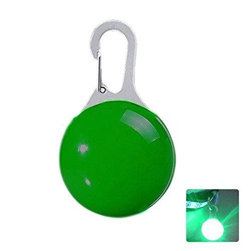 JIALUN- LED 2W grüne geführte Haustier-Dekorationen leuchtende hängende Nachtwarnung (1PCS) Hauptbeleuchtung im Freienbeleuchtung