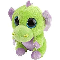 Li'l Sweet & Sassy - Dragón de Peluche, 13 cm, Color Verde (Wild Republic 13703)