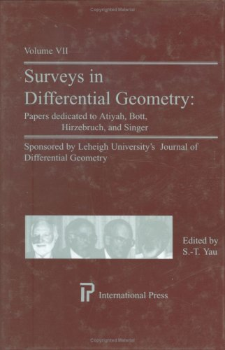 Surveys in Differential Geometry: v.7: Vol 7 (International Press)