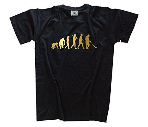 Shirtzshop Maglietta Gold Edition cercatori di tesori metallo dedektor Evolution, Unisex, T-Shirt Gold Edition Schatzsucher Metall Dedektor Evolution, nero, XL nero