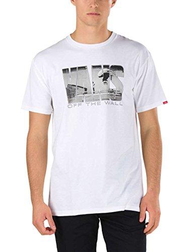 Herren T-Shirt Vans Push Through II T-Shirt White