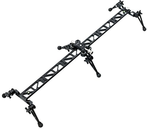 Proaim P-L3-SL Linear Ball Bearing Video Camera Slider for Tripod Mount DSLR DV Sony Nikon Canon Accessory Kits at amazon
