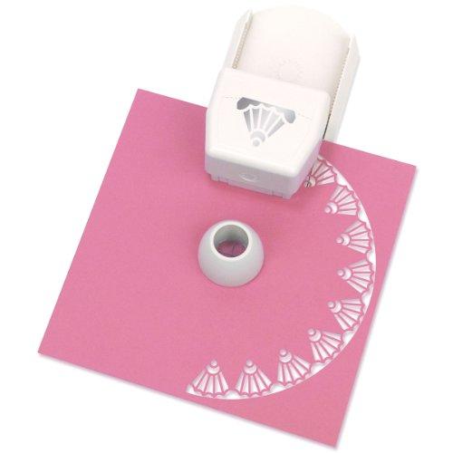 Unbekannt Martha Stewart Kreis- und Randlocher für Papier zum Basteln Deko-Schale weiß