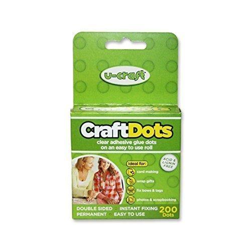 U Craft dots Set, 8x 2,5x 9cm