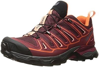 Salomon X Ultra 2 Gtx W, Zapatillas de Deporte Exterior Mujer, Morado (Fig/Tibetan Red/Flame), 36 EU