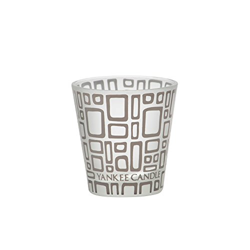"Yankee Candle Sunset Mosaic Glass Votive Holder for Samplers or Tea Lights Small 8cm/3.2"" Modern & Contemporary Candle Container with 1000 Incredible Decorative Coloured Glass Beads Indoor/Outdoor"