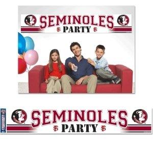 Florida State Seminolen Party Banner
