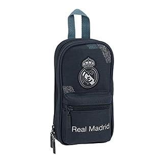 Safta Real Madrid 2 Plumier Estuches 23 cm, Azul