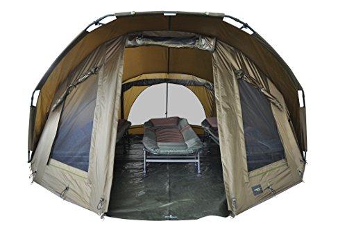 """MK-Angelsport""""Fort Knox 3,5 Mann Dome"""" Zelt Karpfenzelt Angelzelt incl. Gummihammer"""