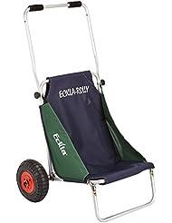 Eckla Beach Rolly - Carrito convertible en silla de playa blau/gruen