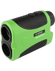 Excelvan Laser Télescope Télémètre pour Golf Testeur Distance Multifonctions Compteur Mesure Distance / Angle