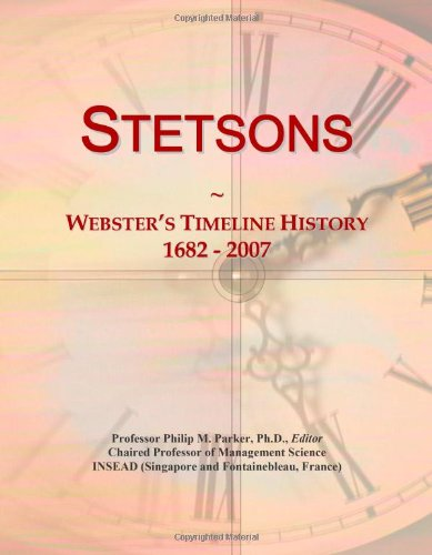 stetsons-websters-timeline-history-1682-2007