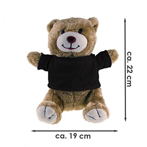 Cuddly Toy Bear Classic I Love Switzerland Beige