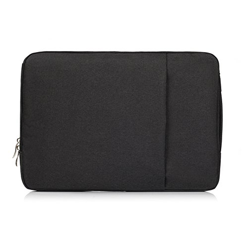 TechCode Laptop Notebook Tasche Polyester Gewebe Multifunktionshüllen Aktenkofferm Handtaschen Kasten Abdeckung,Ultrabook Netbook Tablette für 11-11.6 Zoll MacBook Air, MacBook 12 Zoll 2017/2016/2015
