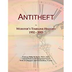 Antitheft: Webster's Timeline History, 1932-2005