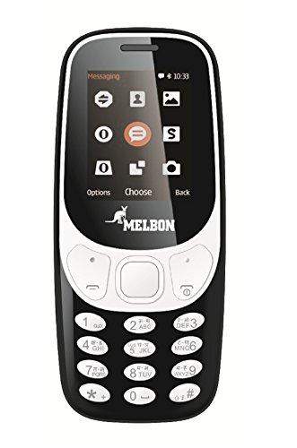Melbon Dude-3310 (Dual SIM, Black)