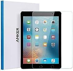 """iPad Air Panzerglas Schutzfolie, Anker Premium Hartglas Displayschutz für iPad Air/ iPad Air 2 / iPad Pro 9.7"""" / New iPad 9.7"""" (2017) / iPad 9.7"""" (2018) mit einer Härte von 9H und Einfacher Anbringung"""