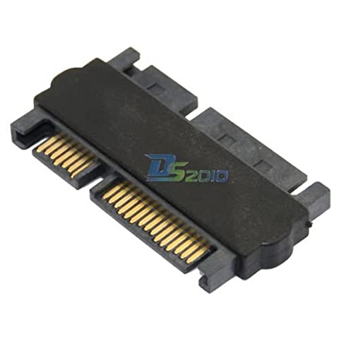 SATA 22 (7+15) Pin 22P 7+15P Male to male Plug Power extension adapter convertor