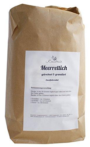 Meerrettich   hervorragende Qualität   granuliert   ohne Zusätze   Armoracia rusticana   500 g