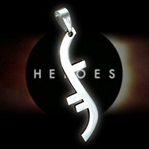 Argento placcato Heroes Godsend Helix Simbolo pendente