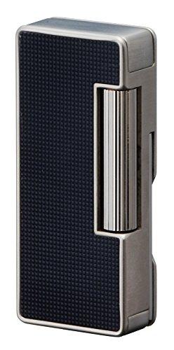 Sarome psd37–04Flint Feuerzeug, W//schwarz Lattice alumite