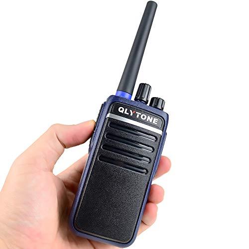 FGKING Radio Mobile Multifunzionale, walkie-Talkie Radio bidirezionale con Doppia Base di Ricarica, galleggianti Impermeabili Confezione da 4 canali