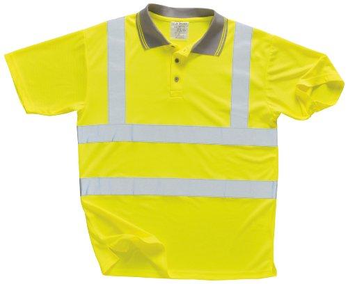 Portwest Hochsichtbares Poloshirt, Größe S-5XL, Gelb gelb