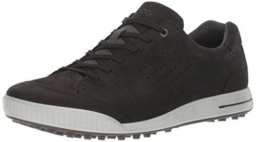 Ecco Herren Men's Golf Street Golfschuhe, Schwarz (51052BLACK/Black), 44 EU (Schuhe Ecco Golf)