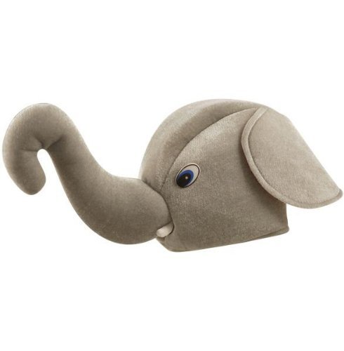 Nelly Der Elefant Dumbo-Art-Neuheit-Kostüm - Gimmick-Tier-Hut (Halloween Kostüme Rumpf)