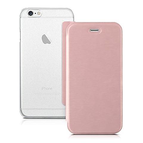 kwmobile Housse flip case pour Apple iPhone 6 / 6S