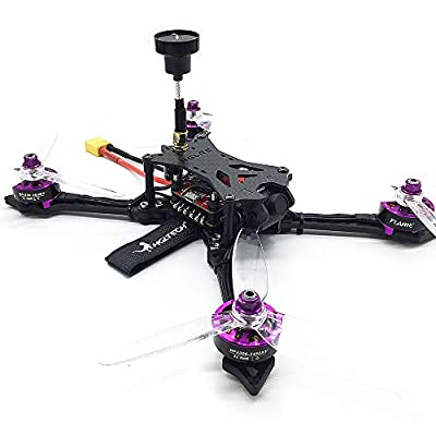 Goolsky HGLRC BATMAN220 220mm 48CH F4 600TVL Camera FPV Racing Drone Quadcopter w/ Frsky XM+ Receiver BNF