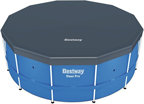 Bestway 58037 - Cobertor piscina estructura metálica, diámetro 366 cm