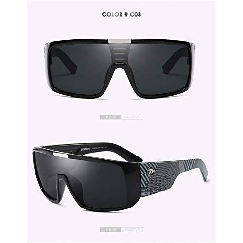 JYTBD Sport Outdoor-Produkte/Persönlichkeit Sonnenbril Herren Retro Male Goggle Bunte Sonnenbrille für Herren Fashion Mirror Shades Oversized (Color : NO3, Size : UV400 2030)