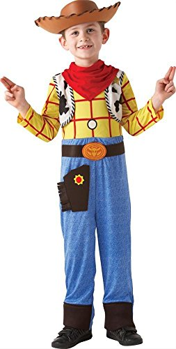Woody Deluxe Kostüm Story Toy - TOY STORY - DISNEY PIXAR ~ Woody (Deluxe) - Kids Costume 5 - 6 years