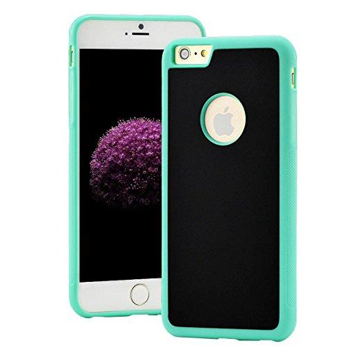 SHOP STORY - Coque Anti-gravité pour iPhone 6+ / 6S+ avec Nano Ventouse pour une Adhérence sur Surfaces Lisses - vert
