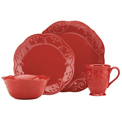 Lenox French Perle Cherry 4 Piece Place Setting Lenox Perle