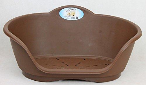Sweet Dreams PLASTIC HEAVY DUTY PET BED- DOG,CAT,ANIMAL,SLEEP,BASKET,MEDIUM,LARGE,X-LARGE (Medium, Blue) 7