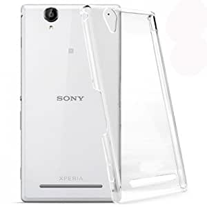 Newtronics Slim Crystal Transparent Hard Back Cover Case For Sony Xperia T2 Ultra D5322 XM50h