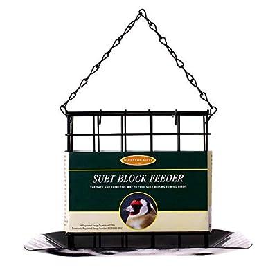 Johnston & Jeff Suet Block Bird Feeder With Tray from Johnston & Jeff