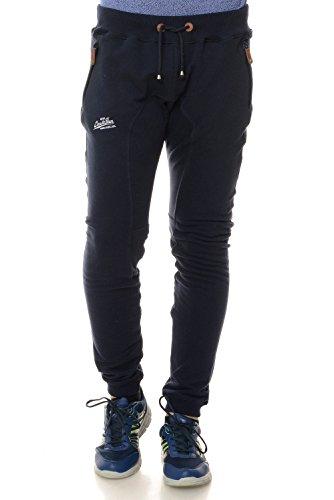 M.Conte Men Sweat Pants Uomo Jogging Pantaloni in Felpa Roberto blu scuro L