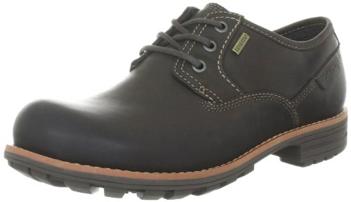 Clarks Midford Lo GTX 203519437100, Chaussures basses homme Marron (Dark Brown Lea)