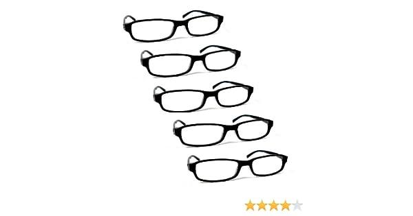 Lot de 5 lunettes loupes de lecture correction +1.0 à +4.0 pour homme (H)  et femme (D)  Amazon.fr  Hygiène et Soins du corps ea81d4881a3f