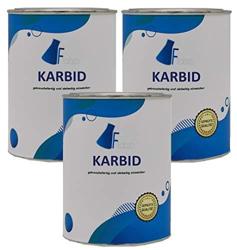 Flabzo 1,5 Kg Karbid 4260626392194 Made by Buttersäure 24 (Regnr.EU 3429) (1,5 Kg)