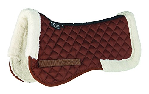 Cottage Craft Synthetic Fleece Lined Half Pad