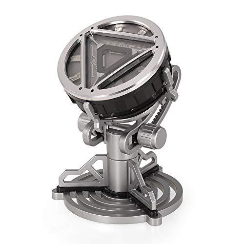 Shuxinmd Neuheit lustiges Spielzeug 1/1 Iron Man Arc Reactor mit LED-Licht Film Prop für Freundschaft Geschenk Sammlung Kinder Spielzeug Zum Spaß (Iron Baby Man-kostüm)