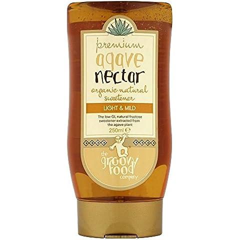 The Groovy Food Company Organico Nettare Di Agave Dolcificante Naturale Lieve (250ml) (Confezione da 2)