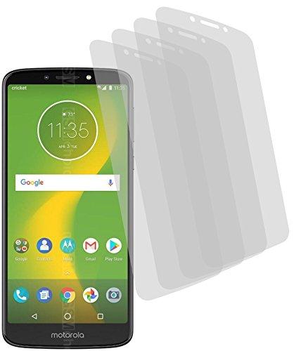 4X ANTIREFLEX matt Schutzfolie für Motorola Moto E5 Supra Bildschirmschutzfolie Displayschutzfolie Schutzhülle Bildschirmschutz Bildschirmfolie Folie