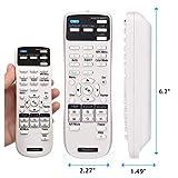 Aimple 1547200 - Telecomando di ricambio per Epson EB-1840W EB-1850W EB-1860 EB-1870 EB-1880 EB-420 EB-425W EB-430 EB-435W EB-470 EB-475W EB-475Wi EB-480 EB-480e EB-480i EB-485W EB-485Wi EB-C26XE