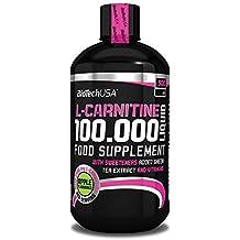 Biotech USA 14004010200 L-Carnitine 100.000 Liquid Saveur Pomme